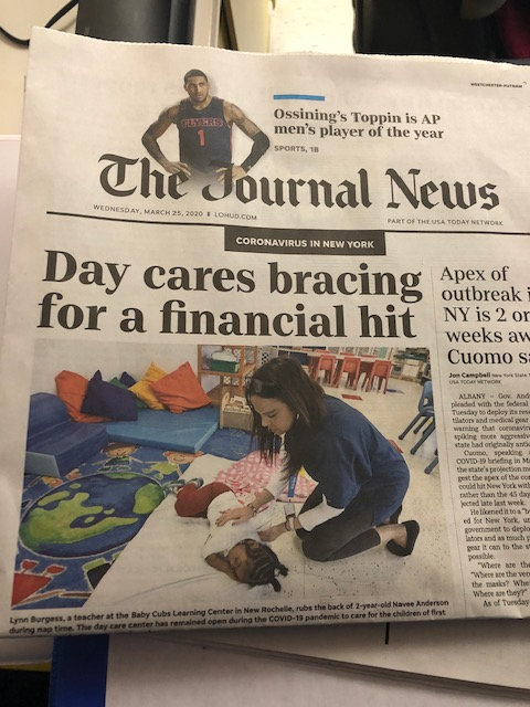 day care bracing for a financial hit article in a newspaper